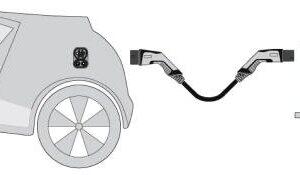 Kabel ładowania Typu 2 Tryb 3 ładowania